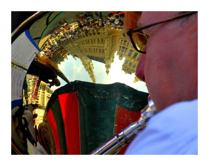 La Grand-Place vu du Tuba...