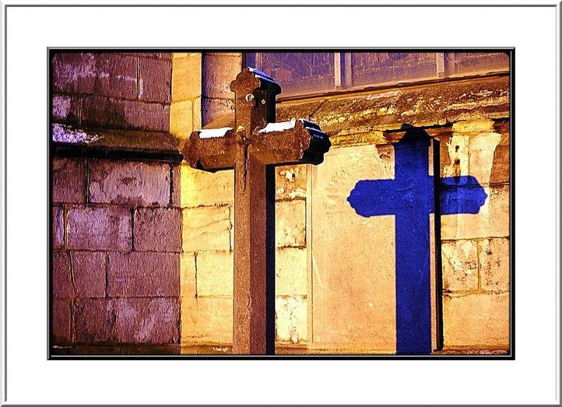 L'ombre de la croix...