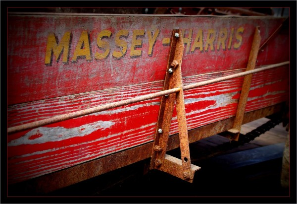 Massey-Harris....