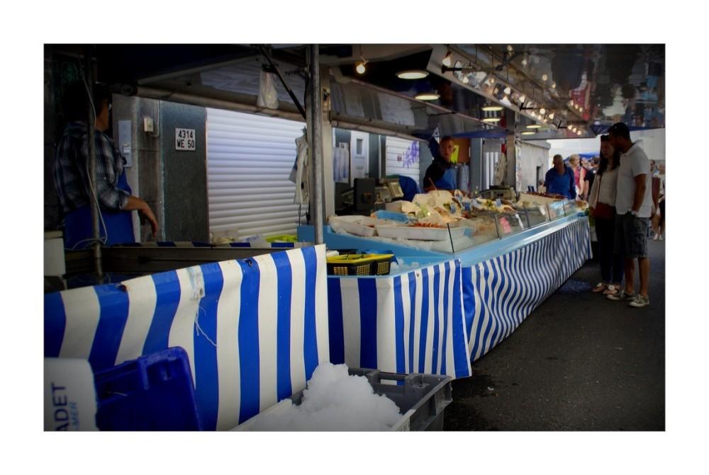 Le marché aux poissons...