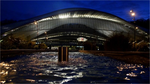Liège-Guillemins...by night.(2)