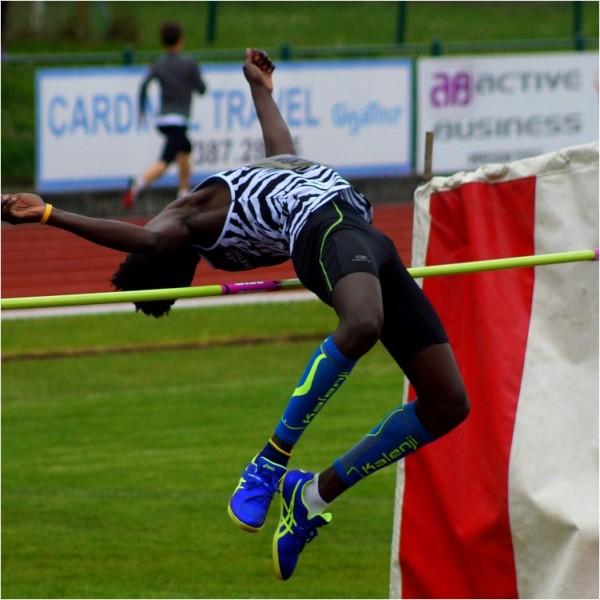 The jump...