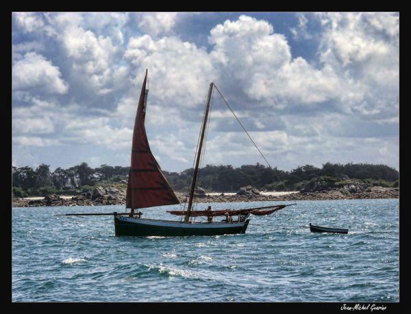 Voilier sailboat Ile de Batz Batz Island