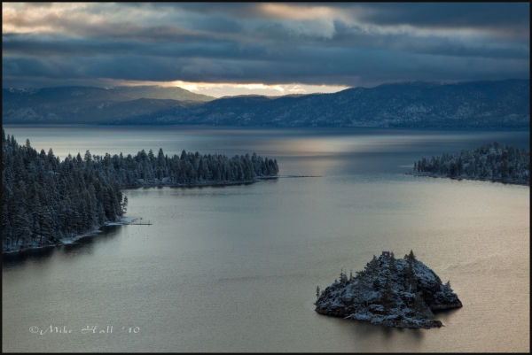 Late Spring Sunrise at Emerald Bay Lake Tahoe