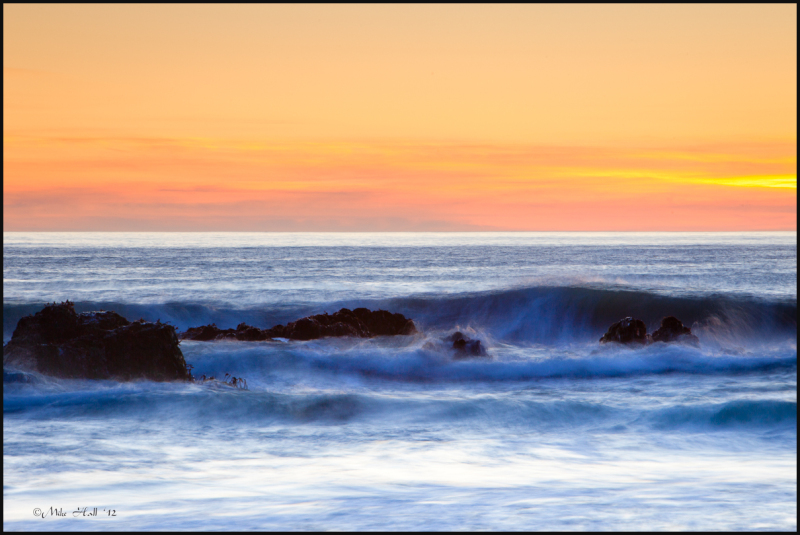 Big Sur Winter Sunset