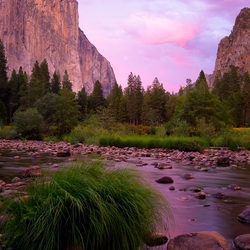 Last Light on El Capitan, Yosemite National Park