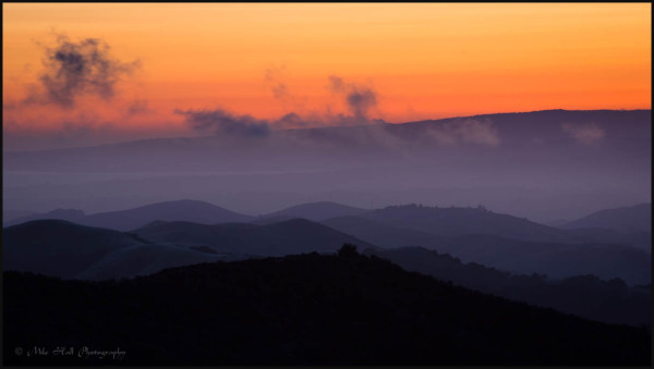 Salinas Valley Twilight and Fog