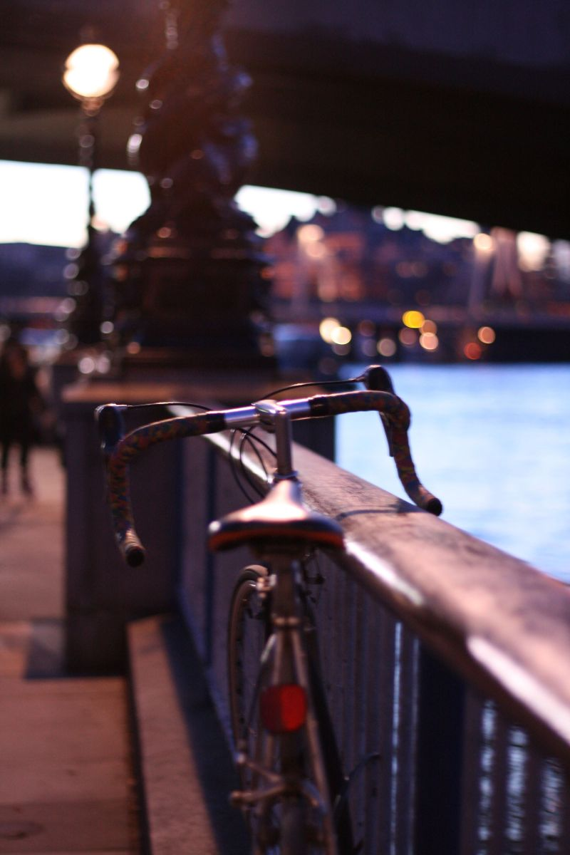 Bike, Southbank, London