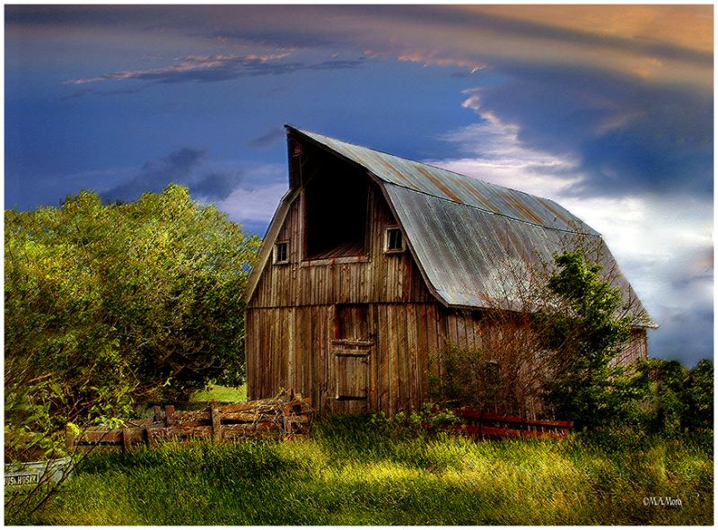 an Old Barn