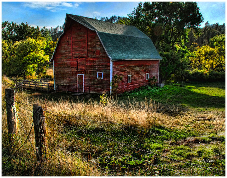 Old Barns Landscape Rural Photos Nebraska Visions