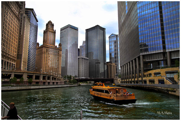 Chicago River taxi