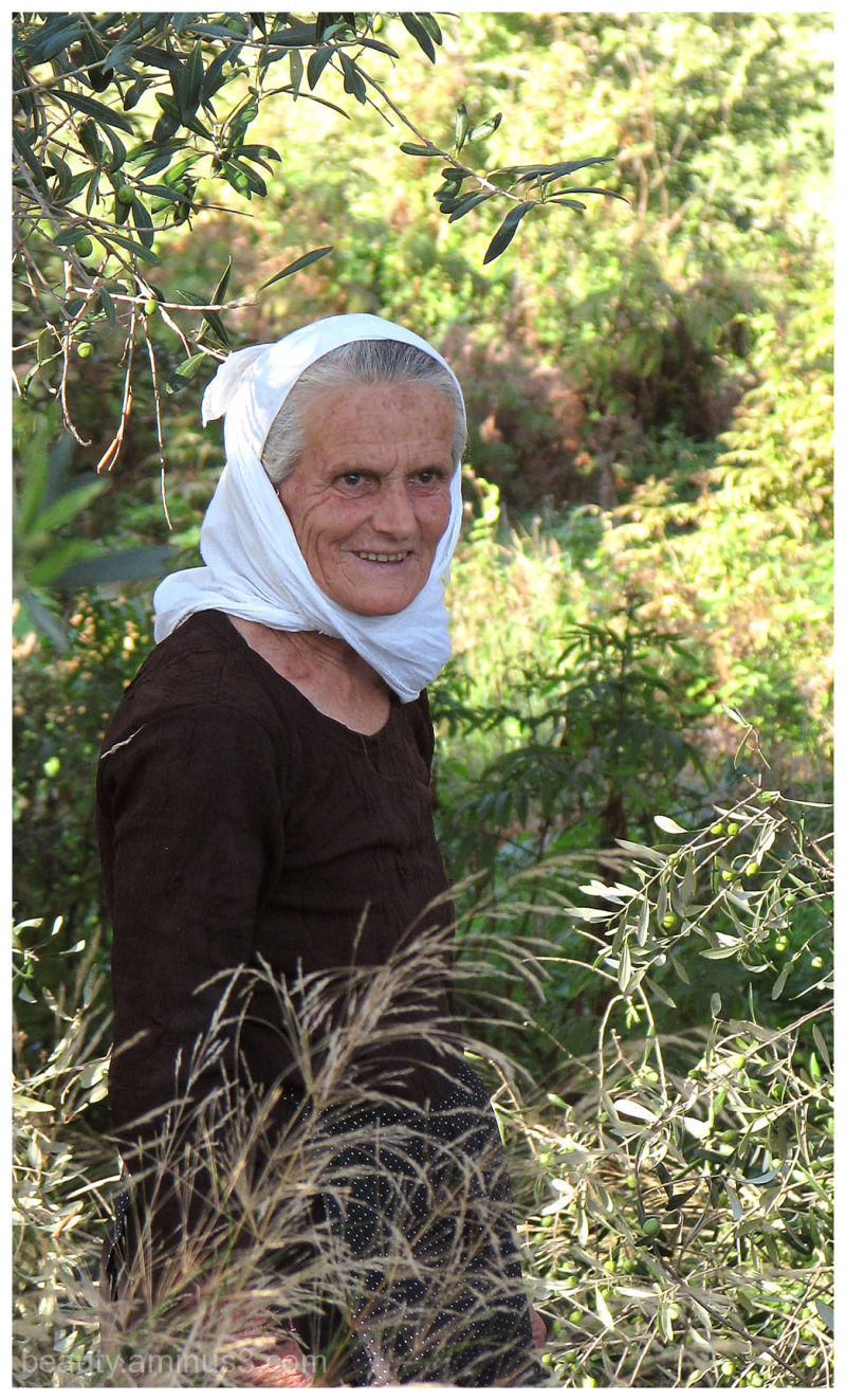 elderly albanian woman