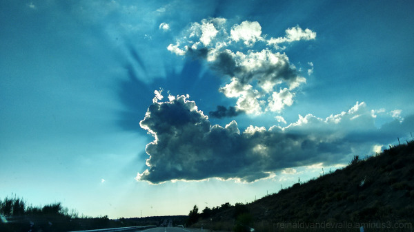 strange shadow in the sky