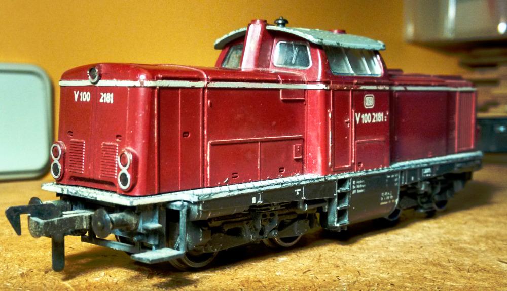Scale model train