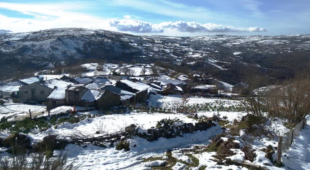 Galician village