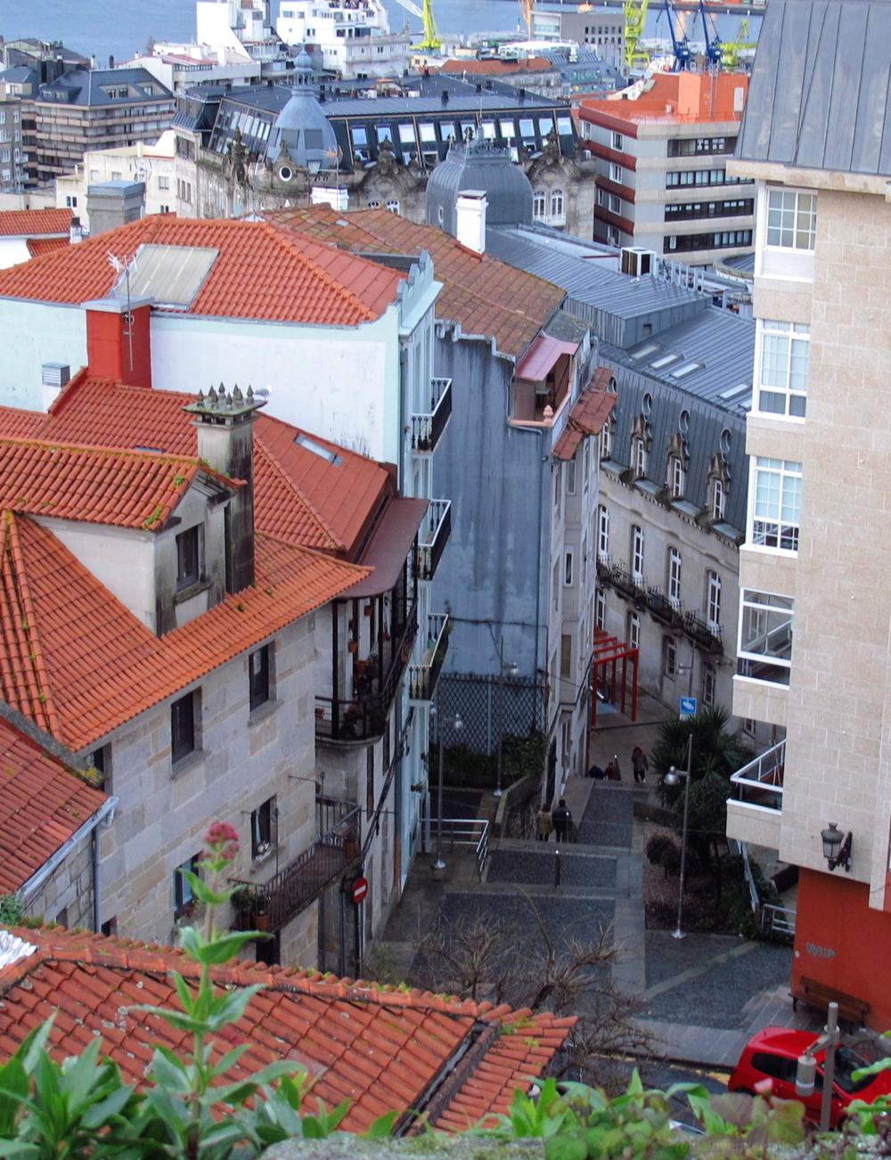 City stairways