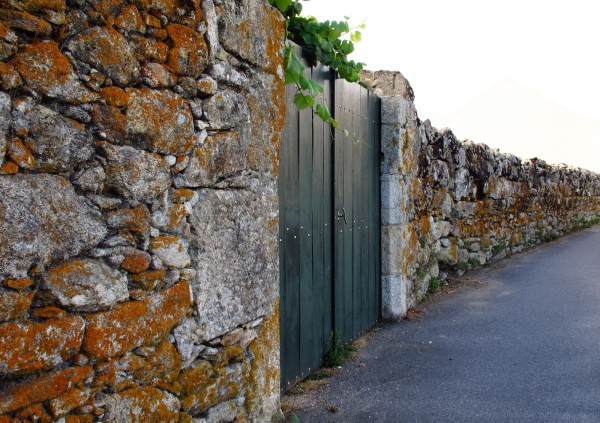 Stone wall in Galicia