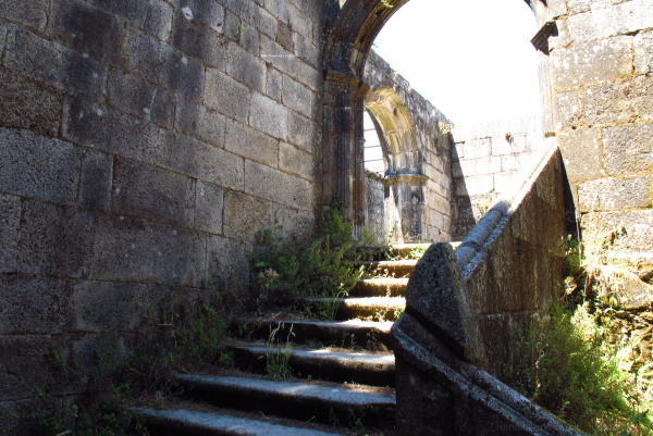 Stairs from a abandoned Monastery