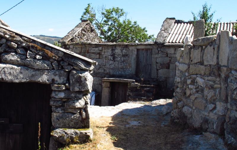 Abandoned rural houses