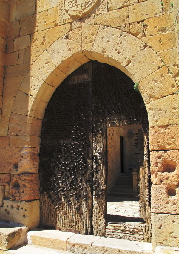Castle gate from Pedraza, Spain