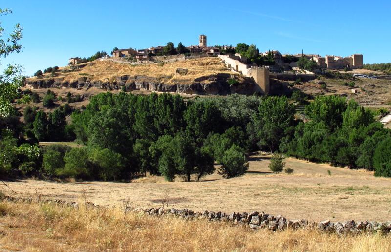 Pedraza village outside view