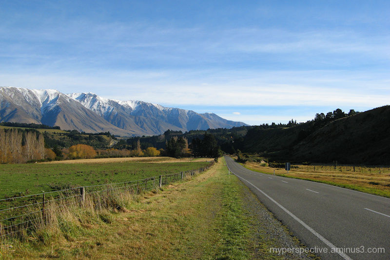 Mountain Road, South Island, New Zealand