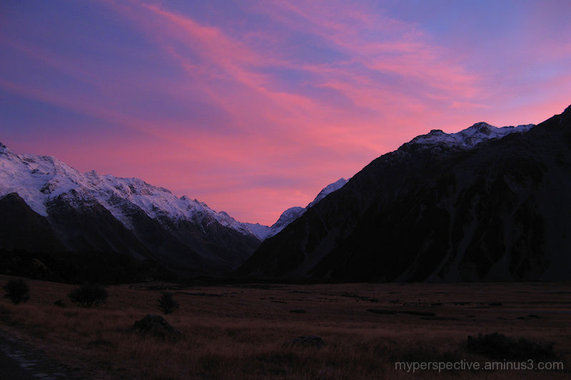 Mount Cook National Park, South Island New Zealand