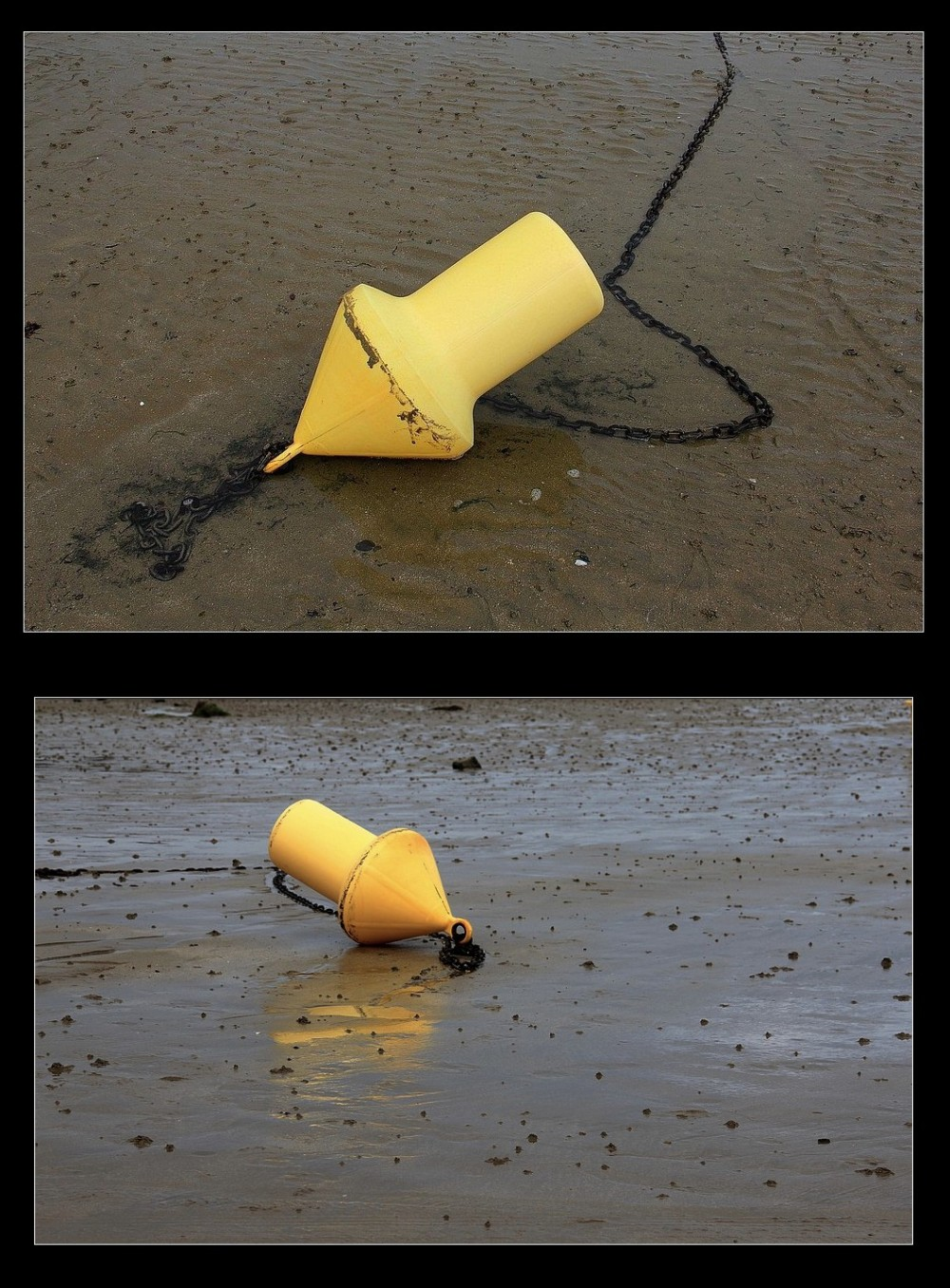 2) Sur le sable échoués...