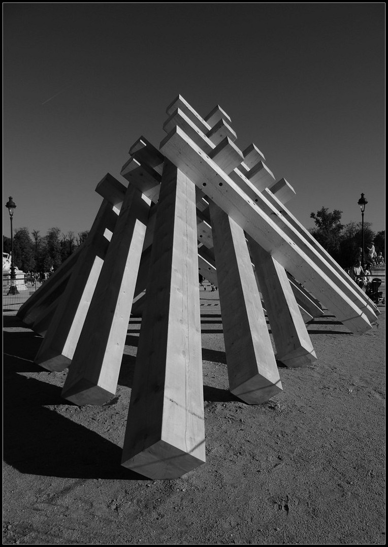 La pyramide des Tuileries