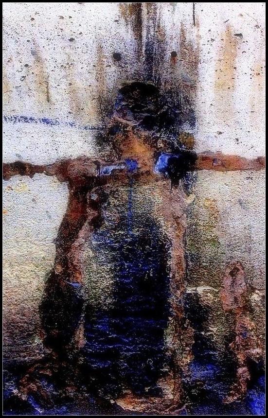 Les bras en croix
