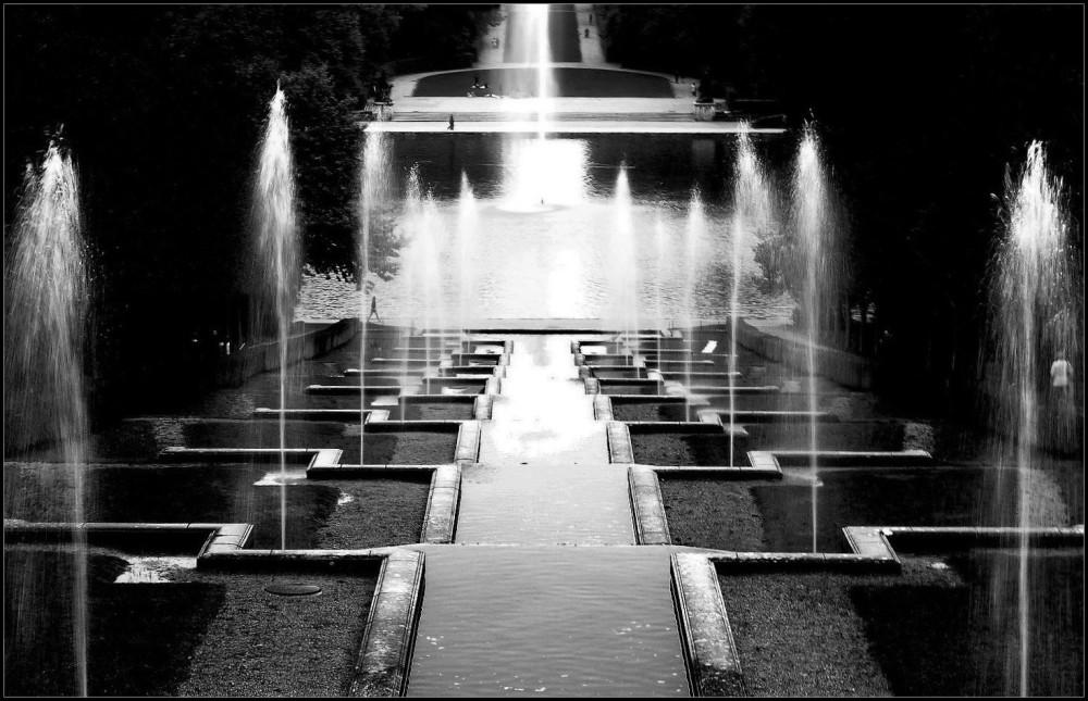 Jeux d'eau à Sceaux ~ 2