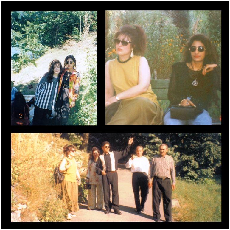1995 07 26 Sanda & The Hassans in Botanical Garden