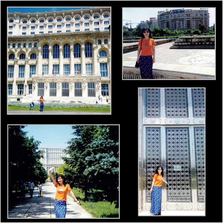 1999 05 29 Sanda in Bucharest