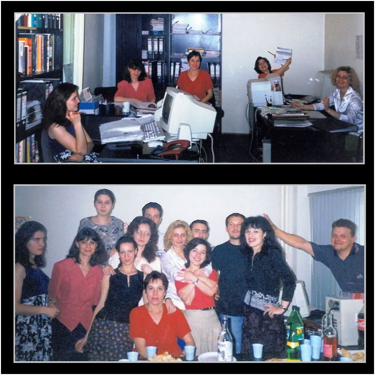 1999 05 31 My last day at Publirom