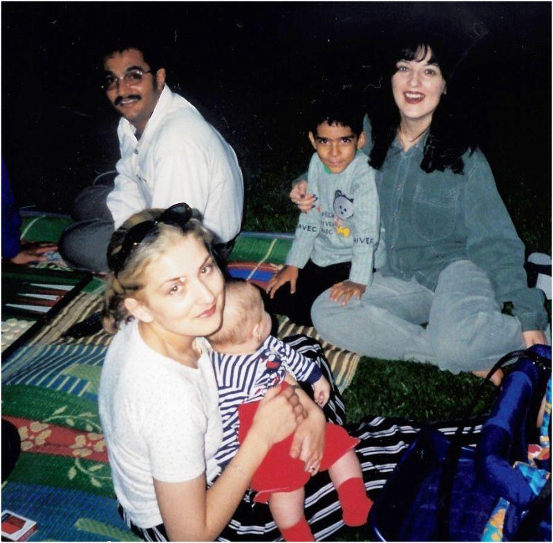 2000 11 Sanda, Mehrdad, Diana & Hammoud