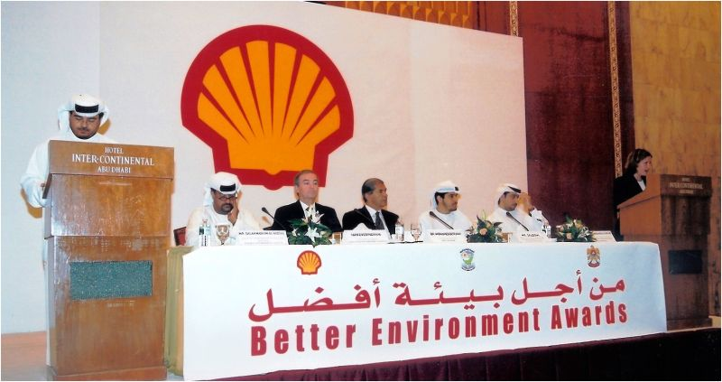 2003 05 Shell's Better Environment Awards Ceremony
