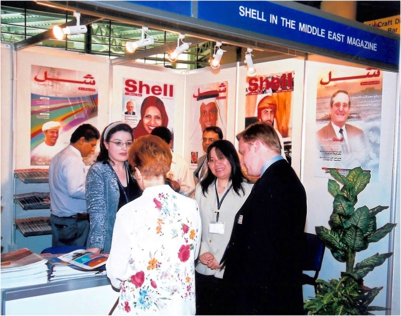 2003 11 Shell Magazine at Arab Oil Exhibition