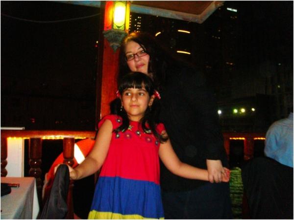 Soraya and Sanda on a boat 2012 06 22
