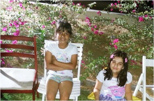 Soraya & Inji at Diwali in Skycourts 2012 11 14