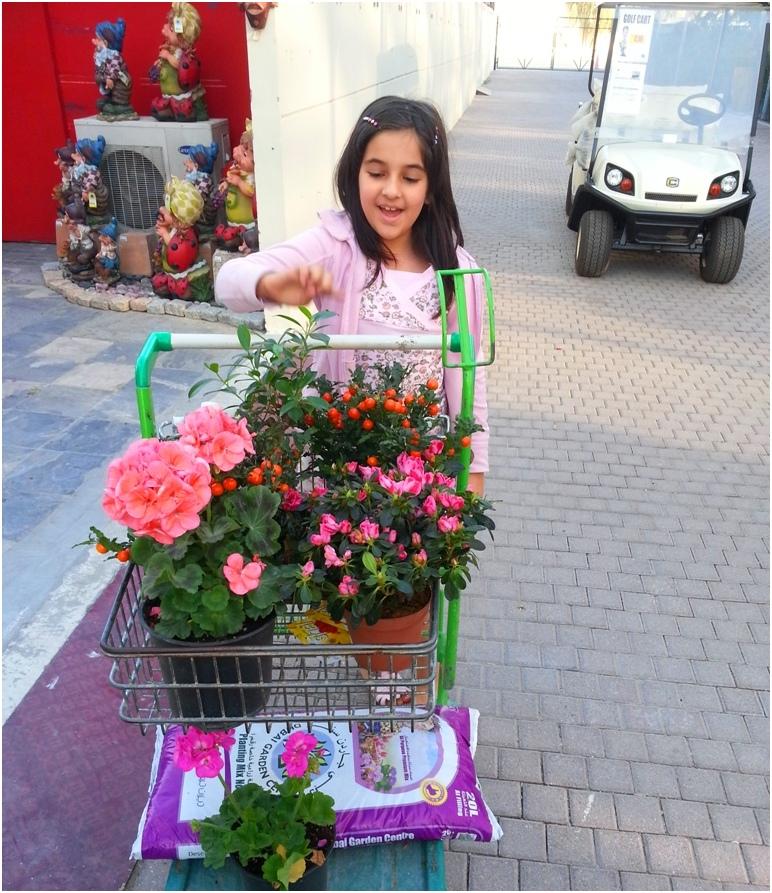 2013 01 18 Soraya at Dubai Garden Centre