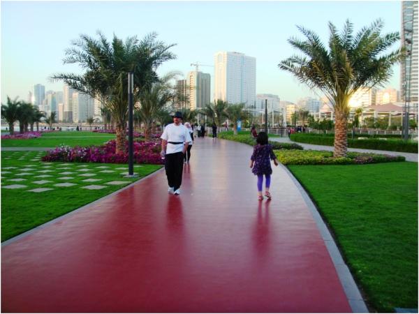 Soraya in Al Majaz Park, Sharjah 2013 03 09