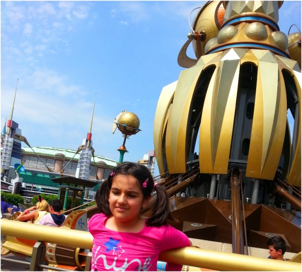2013 07 24 Soraya at Disneyland Paris
