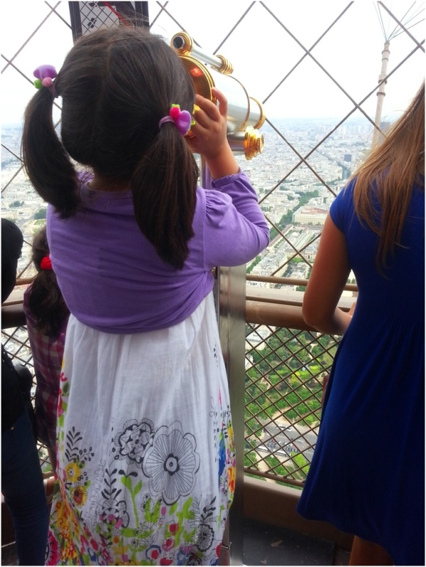 2013 07 27 Soraya at Eiffel Tower, Paris