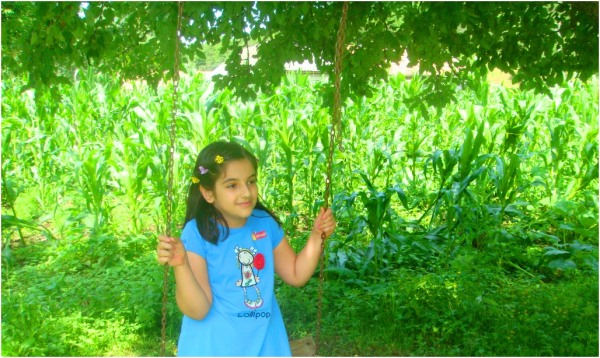 2013 06 23 Soraya in the village