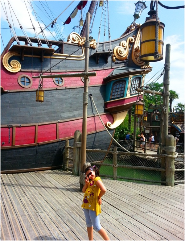 2013 07 25 Soraya at Disneyland Paris