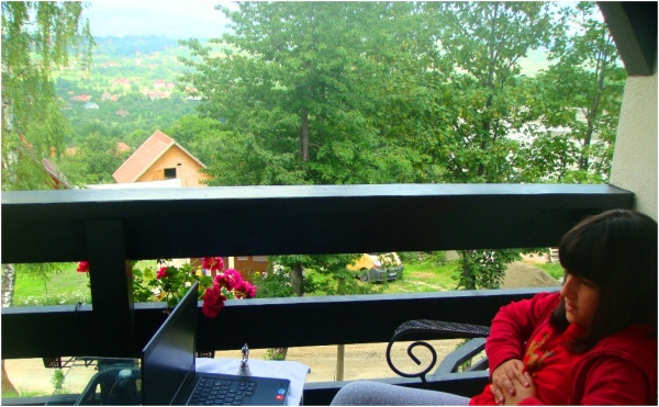 2013 07 11 Soraya at Bran, Romania