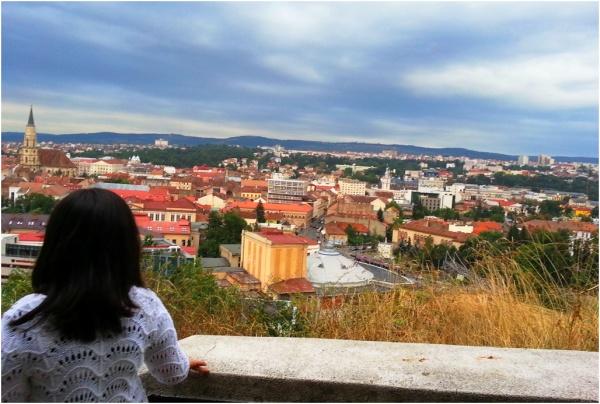 2013 08 15 Soraya on Cetatuia Hill, Cluj-Napoca