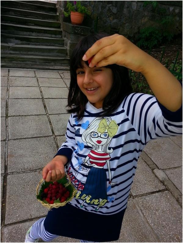 2013 07 12 Soraya at Peles Castle, Sinaia