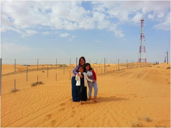 2014 01 02 Soraya, Sanda & Alyssa - Trip to Hatta