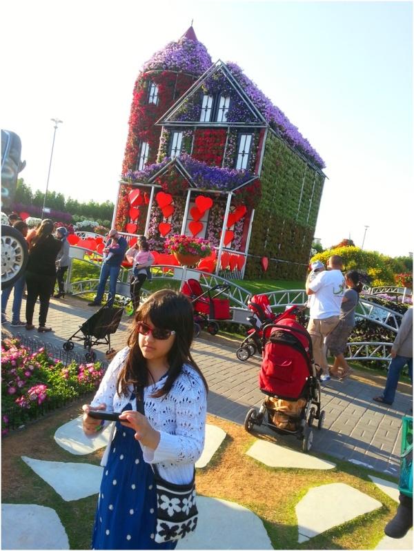 2014 02 15 Soraya at Dubai Miracle Garden